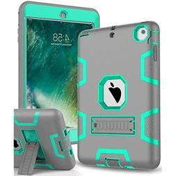 Topsky iPad Mini 4 Case Hybrid Three Layer Armor Defender Fu