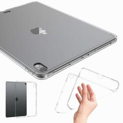 Transparent Clear TPU Soft Case Cover For Apple iPad Pro 11