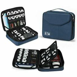 Travel Electronic Accessory Cases Organizer Bag for iPad or