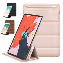 MoKo Trifold Stand Sleeve Case Pencil Holder for iPad Pro 11