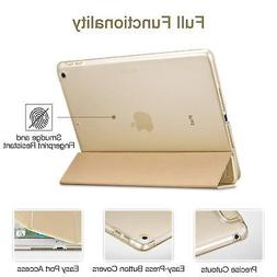 Trifold Case for iPad 9.7 2018 17 Lightweight Gold Ipad Case