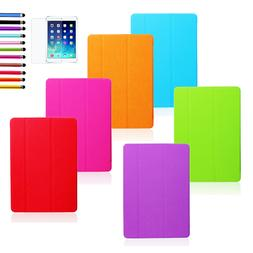 Trifold Slim Smart Cover Leather Case Stand For Apple iPad M
