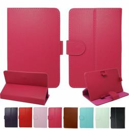 """UK Universal Leather Stand Case For 7"""",8"""",9"""",10"""",10.5inch La"""