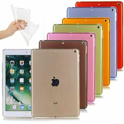 Ultra Thin Slim Soft TPU Clear Shockproof Case Cover For iPa
