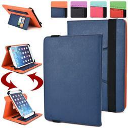 Universal 9 - 9.7 inch Tablet Rotation Folio Folding Case Co
