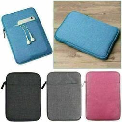 US Soft Tablets Sleeve Bag Case Pouch Cover For iPad Air 1st