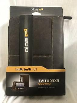 Solo Vintage Carrying Case  For Ipad Mini - Espresso - Full
