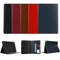 Vintage Flip Leather Folding Stand Case Cover For iPad 2 3 4