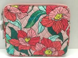 Vera Bradley VINTAGE FLORAL  Tablet iPad Sleeve Zippered Cas