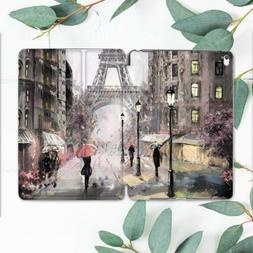 Vintage Paris Oil Art Smart Cover Case For  iPad Pro 12.9 11