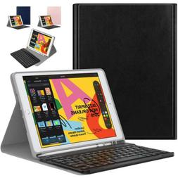 MoKo Wireless Bluetooth Keyboard Cover Case for iPad 10.2 20