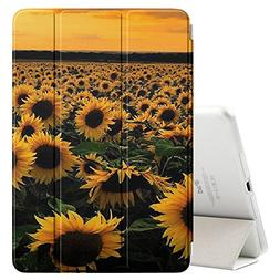 Graphic4You Yellow Sunflower Ultra Slim Case Smart Cover Sta
